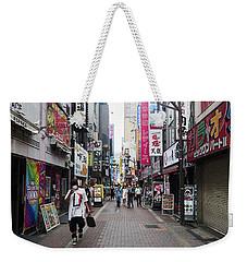 Shinjuku Weekender Tote Bag