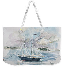 Ship Sketch Weekender Tote Bag