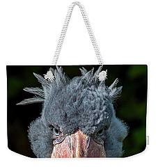 Shoe-billed Stork Weekender Tote Bag