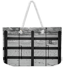 Weekender Tote Bag featuring the photograph Showers by Steve Stanger