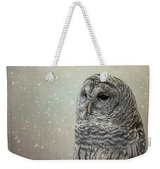Silent Snow Fall Weekender Tote Bag