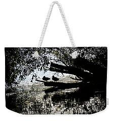 Silhouette Ducks #h9 Weekender Tote Bag