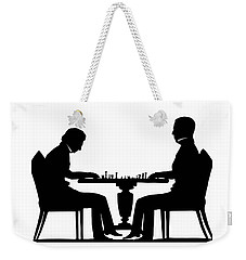 Silhouette Of Chess Players, Around 1845 Weekender Tote Bag