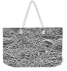 Weekender Tote Bag featuring the photograph Silver Gift  by Top Wallpapers