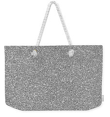 Weekender Tote Bag featuring the photograph Silver Glitter  by Top Wallpapers