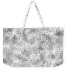 Weekender Tote Bag featuring the photograph Silver Metal by Top Wallpapers