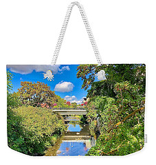 Weekender Tote Bag featuring the photograph Silverton Gazing by Brian Eberly