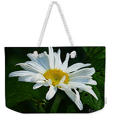 Weekender Tote Bag featuring the photograph Simple Perfection by Rosanne Licciardi