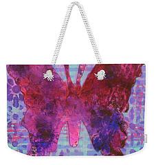 Sing Butterfly Weekender Tote Bag