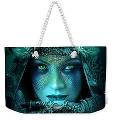 Sister Green Eyes Weekender Tote Bag