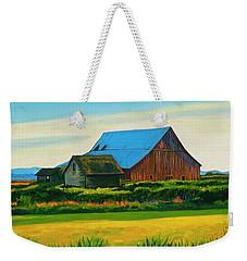 Skagit Valley Barn #4 Weekender Tote Bag