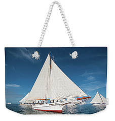 Weekender Tote Bag featuring the photograph Skipjack Rosie Parks by Mark Duehmig