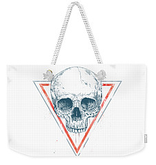 Skull In Triangles Weekender Tote Bag