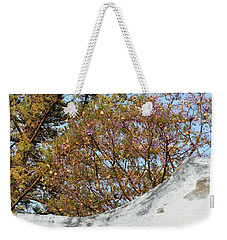 Weekender Tote Bag featuring the photograph Sky Bouquet by Rosanne Licciardi