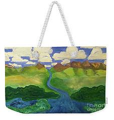 Sky River To Sea Weekender Tote Bag