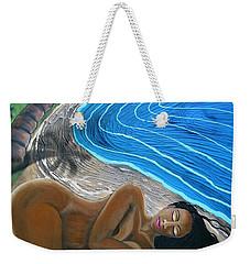 Sleeping Nude Weekender Tote Bag