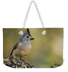 Small Titmouse Weekender Tote Bag