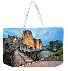 Smederevo Fortress Gate And Bridge Weekender Tote Bag