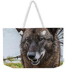 Smiling Weekender Tote Bag