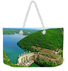 Smith Mountain Lake Dam Weekender Tote Bag