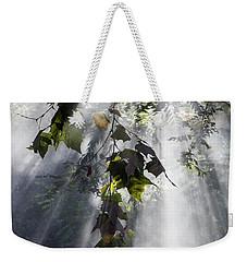 Smoke Gets In Your Skies Weekender Tote Bag