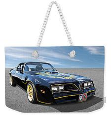 Smokey And The Bandit Trans Am Weekender Tote Bag