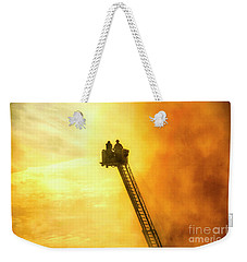 Smokey Blaze Weekender Tote Bag