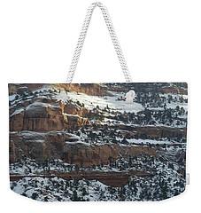 Snow Steps Weekender Tote Bag