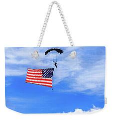 Socom Flag Jump Weekender Tote Bag