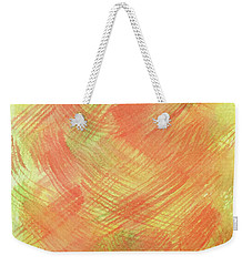 Soft Orange Colors 2 Weekender Tote Bag