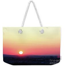 Solar Tangent Weekender Tote Bag