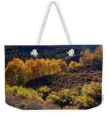 Weekender Tote Bag featuring the photograph Sonora Pass by Tassanee Angiolillo