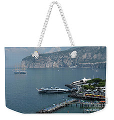 Sorrento Port Weekender Tote Bag