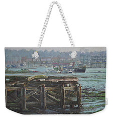 Southampton Northam Summer Evening Across The Itchen Weekender Tote Bag