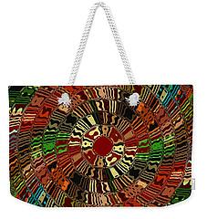 Southwestern Sun Swirl Weekender Tote Bag