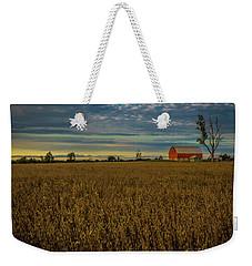 Soybean Sunset Weekender Tote Bag