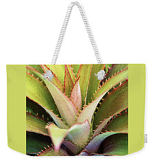 Weekender Tote Bag featuring the photograph Spiny Succulent II by Leda Robertson