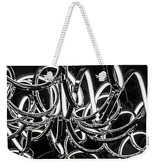 Spirals Of Light Weekender Tote Bag