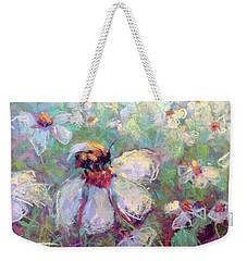 Spring Bee Weekender Tote Bag