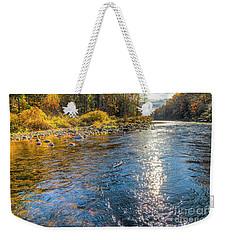 Spring Hole Weekender Tote Bag
