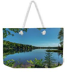 Spring Morning On Grand Sable Lake Weekender Tote Bag