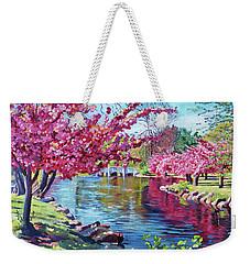 Spring Soliloquy Weekender Tote Bag