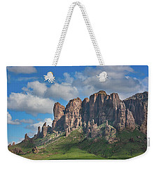 Springtime In The Superstition Mountains Weekender Tote Bag