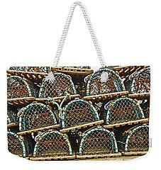 St. Andrews. Lobster Pots. Weekender Tote Bag