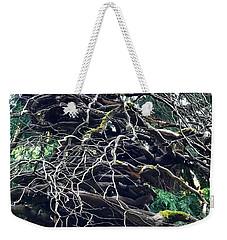 Stacked Tree Weekender Tote Bag