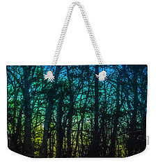 Stained Glass Dawn Weekender Tote Bag
