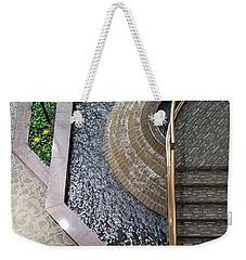 Stairs And Fountain  Weekender Tote Bag