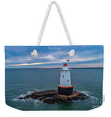 Weekender Tote Bag featuring the photograph Standing Watch by Michael Hughes