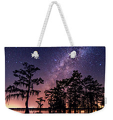 Weekender Tote Bag featuring the photograph Star Bright by Andy Crawford