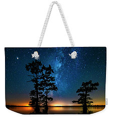 Weekender Tote Bag featuring the photograph Star Gazers by Andy Crawford